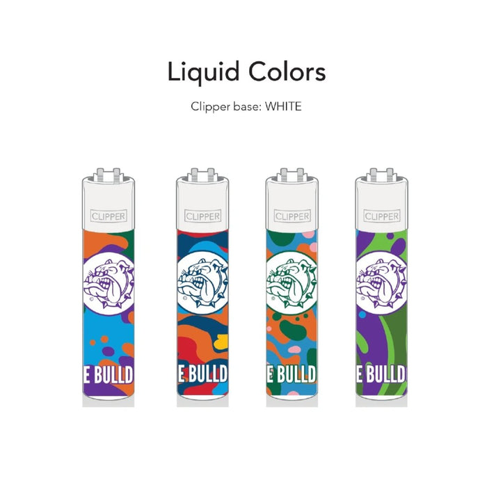 Αναπτ. Clipper The Bulldog Liquid Colors 48T