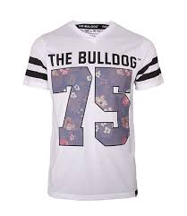 T-Shirt The Bulldog Flash White Men L