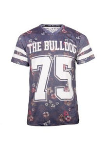T-Shirt The Bulldog Flash Blue-Multi Men L
