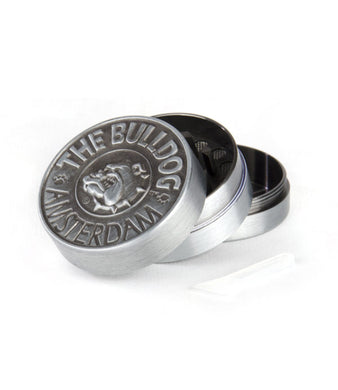 Grinder The Bulldog 3Part Silver