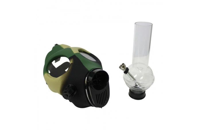 Bong Mask Camouflage with Pipe - rollit-gr