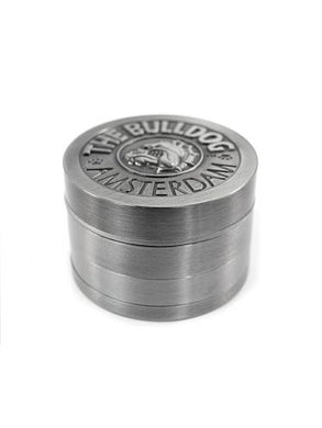 Grinder The Bulldog 4Part Silver - rollit-gr