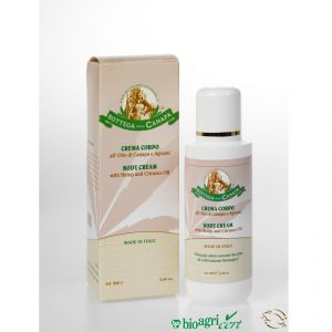Body Cream with Hemp & Citruses Oil 200ml - rollit-gr