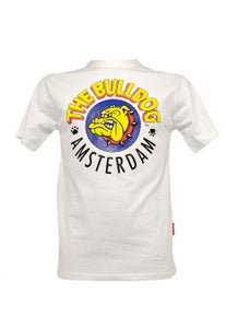 Τ-Shirt The Bulldog Men White Small