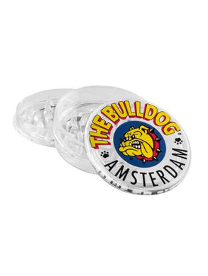 Grinder The Bulldog Clear Plastic - rollit-gr