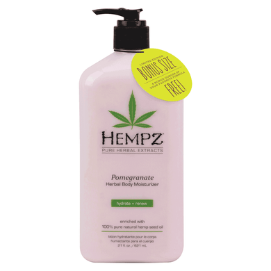 Hempz Pomegranate Herbal Body Moisturiser 621ml