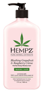 Blushing Grapefruit & Raspberry Creme Moisturiser 500ml - rollit-gr