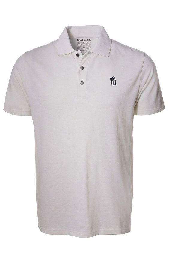 Polo Shirt HoodLamb (XL, White)
