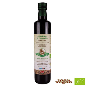 Organic Hempeseed Oil cold pressed 500ml