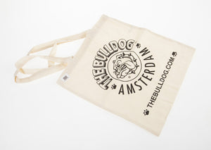 Cotton Bag Ecru The Bulldog Amsterdam - rollit-gr