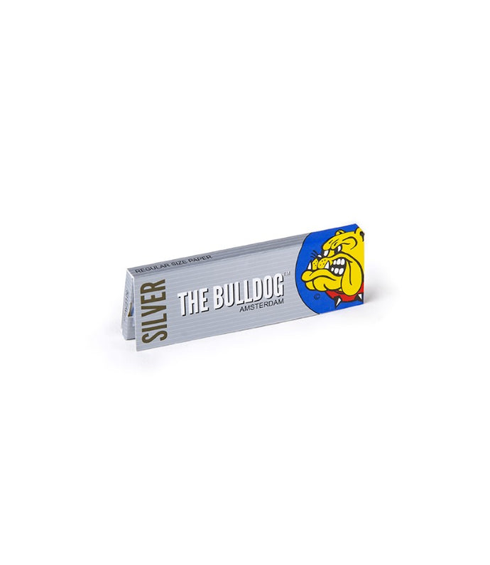 Χαρτάκι Στριφτού The Bulldog Amsterdam Silver Regular