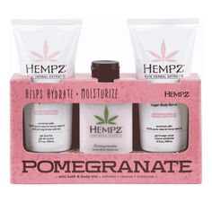Hempz On the Fly Faves - Pomegranate