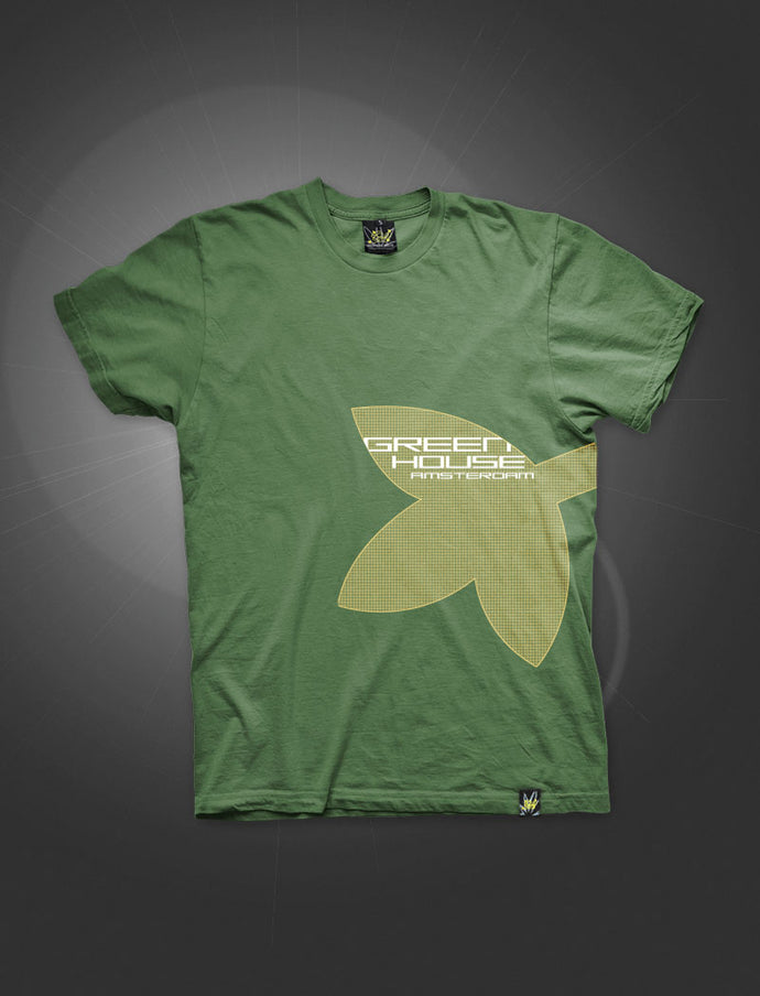 ATS020-S Τ-shirt BIG LEAF FERN GREEN - rollit-gr