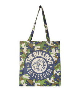 Cotton Bag Camouflage The Bulldog Amsterdam - rollit-gr