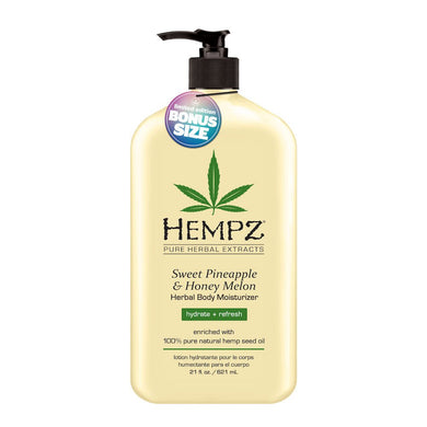 Hempz Sweet Pineapple&Honey Melon Herbal Body Moisturiser 621ml