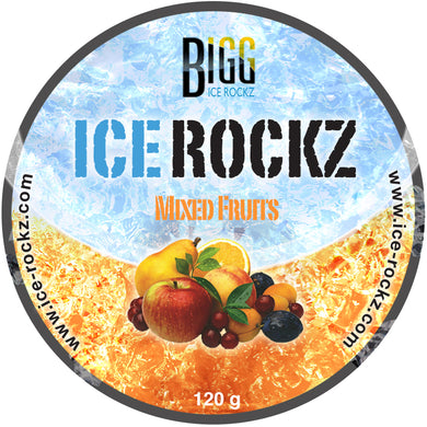 Ice Rockz Mixed Fruits 120g.