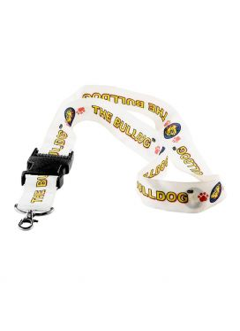 Μπρελόκ Lanyard White The Bulldog