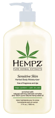 Herbal Moisturiser Lotion for Sensitive Skin 500ml