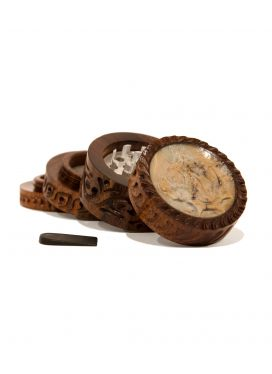 Grinder Wood Gear The Bulldog Amsterdam - rollit-gr