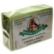 Vegetable Soap with Hemp Oil - Mauve 100gr.