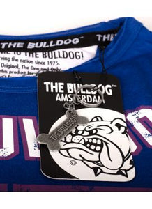 T-Shirt The Bulldog Royal Blue/White  Men L