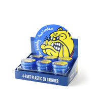 Grinder The Bulldog 4-Part Plastic 3D