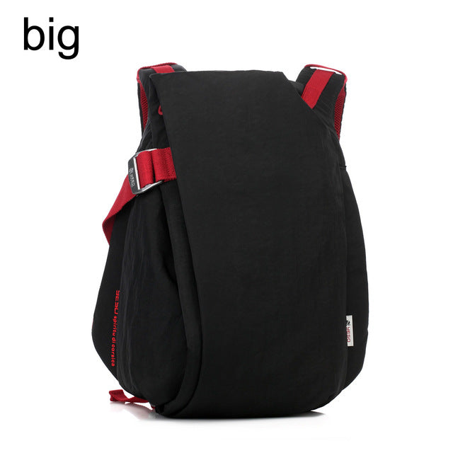 YESO Brand Stylish Men Large Capacity Bag Travel Laptop Backpack Waterproof Nylon College Tide Casual Men's Backpacks School Bag