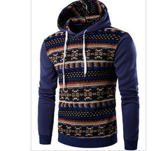 2017 Hoodies Mens Hombre Hip Hop Male Brand Hoodie Fashion Geometric Print Sweatshirt Men Slim Fit Men Hoody XXL EYRV