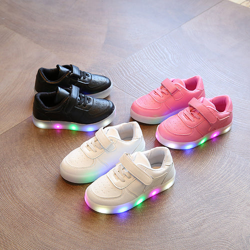 LED Light Anti-Skid Children's Shoes