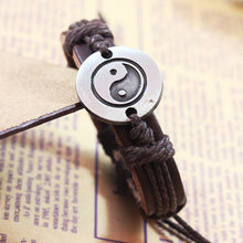 SUSENSTONE Bracelets for women Vintage Bracelet 2016 Hot Sale Tai Chi Ying Yang Men Women Wristband a bracelet #GH25