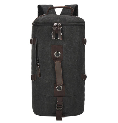 large capacity men's backpack leisure wild backpack bag military Travel bag canvas backpack