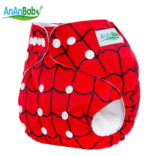 Ananbaby Baby Washable Cloth Pocket Diapers Newborn Cloth Diaper Cover Couche Lavable Reusable Cloth Diaper Cover Wrap 1pc HA015