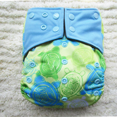 LECY ECO LIFE all in one bamboo charcoal inner diaper, with double pocket gusset