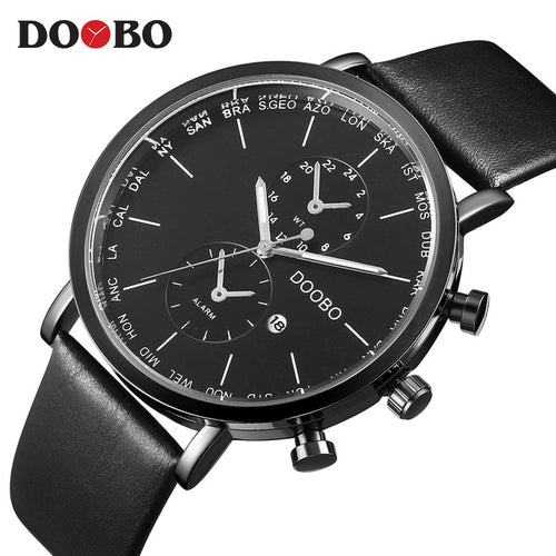 Reloj Hombre Fashion Dropship Sport Mens Watches Top Brand Luxury Military Quartz Watch Clock Saat Relogio Masculino DOOBO