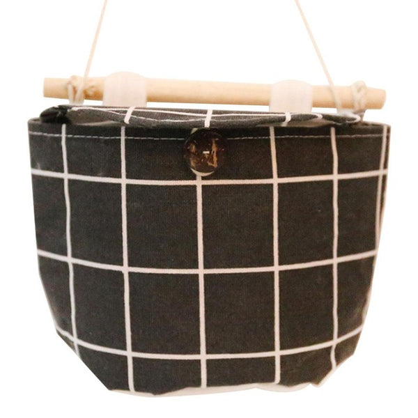 1 Pocket Linen Cotton Hanging Organizer