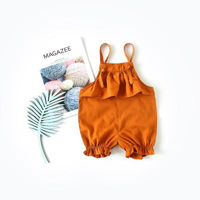 2018 New Products Of In Summer Girls Jean Summer Children Girl Jumpsuit Baby Jumpsuits Girl Romper Costume Overalls Girls