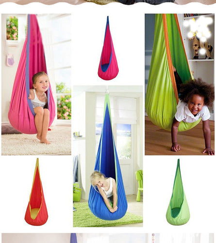2018 hot sale Hammock Inflatable Cushion Garden Swing Chair Indoor Outdoor Hanging Seat Child Swing Seat Patio Hammock Furniture