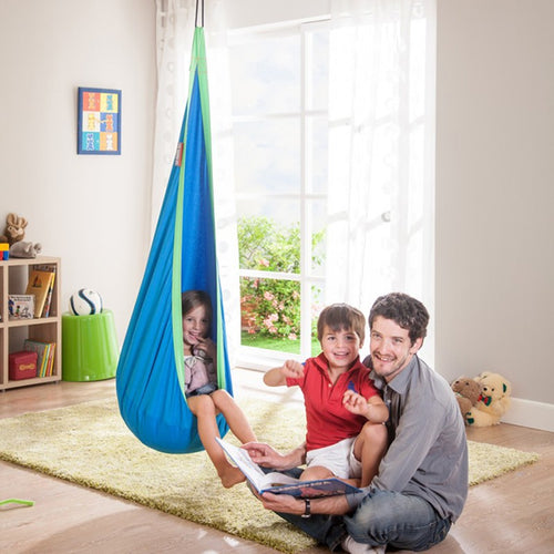 2018 Creative Hammock Inflatable Cushion Garden Swing Chair Indoor Outdoor Hanging Seat Child Swing Seat Patio Hammock Furniture