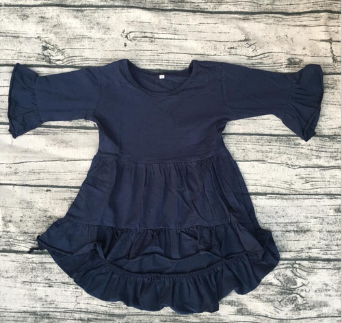 Baby Girl Long Sleeve Cotton Frock