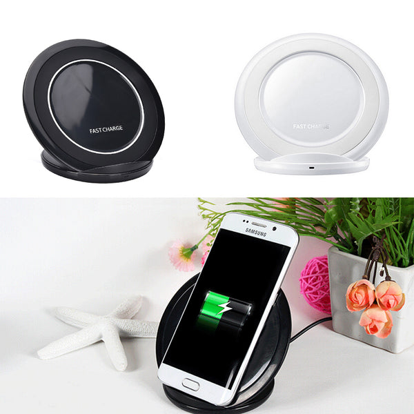 For Samsung Fast Wireless Charger Charging pad For Samsung Galaxy S7 edge / S7 / S6 edge Plus / Note 5 Stand EP-NG930