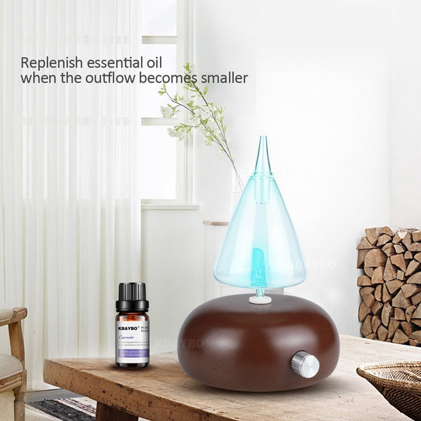 Essential Oil Diffuser, Aroma Purifier, 7 Colour LED Light