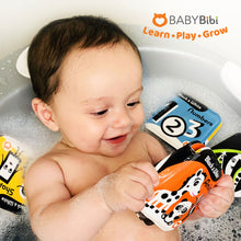 BabyBibi Set of 4 Black and White Waterproof Books