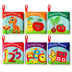 Early Development Cloth Books for Babies