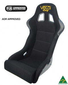 Velo GTP Race Seat. FIA Approved, ADR Approved, Australian Made.