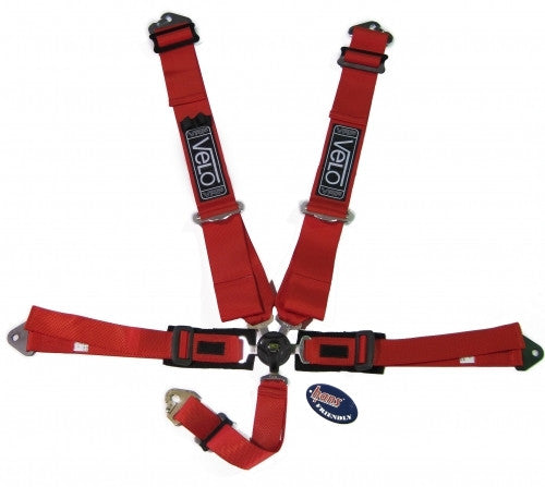 Velo 3 Inch Kit-Car Harness. FIA Homologated.