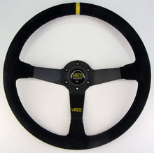 Velo R90 350mm Suede leather Steeering Wheel with Horn Button.