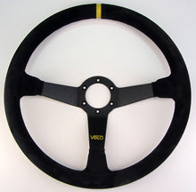 Velo R380 380mm Suede leather Steeering Wheel with Horn Button.
