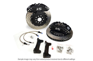 K Sport Subaru REAR Big Brake Kit - 4 Piston WRX & WRX STi - 330/356mm Rotor