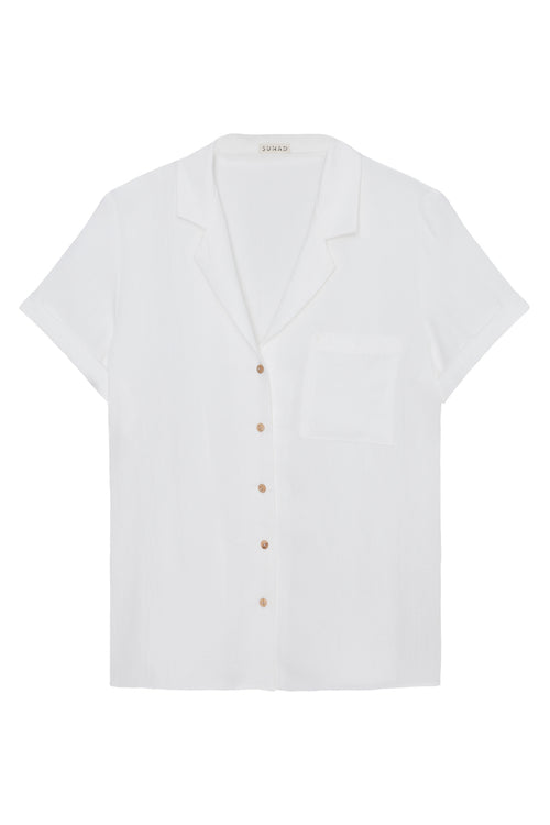 Basin Shirt in White