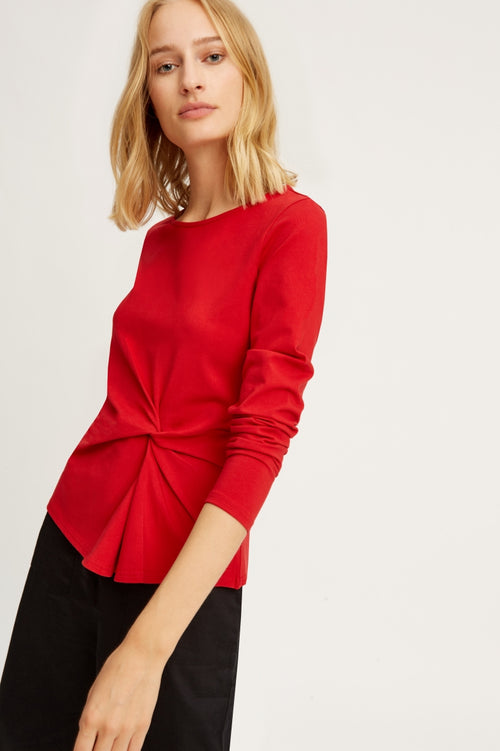 Simone Top in Red